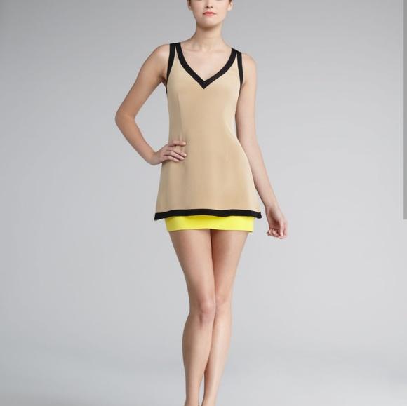 d14c4cc817a4 Jay Godfrey nude silk dress NWT 4 wallach